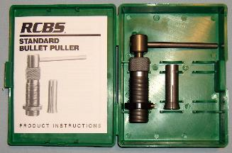 Bullet Puller and Collet
