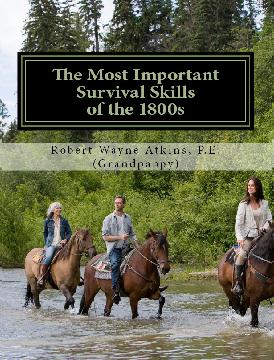 Direct Link to Amazon Web page for The Most Important Survival Strategies of the 1800s