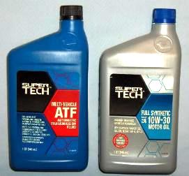 ATF and Motor Oil