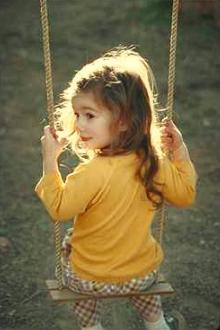 Child in Swing