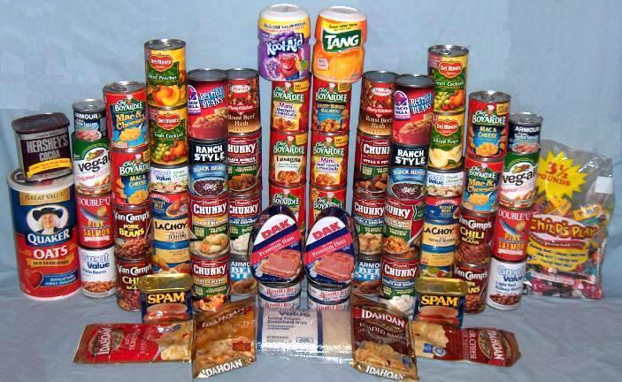 Emergency Food Pantry List