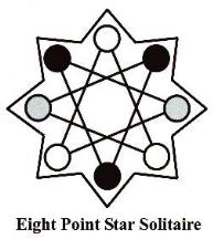Eight Point Star Solitaire
