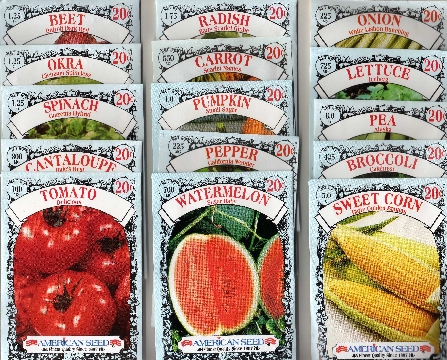 American Seed Packets