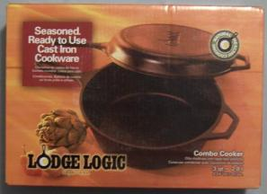 Box Containing Combo-Cooker Set