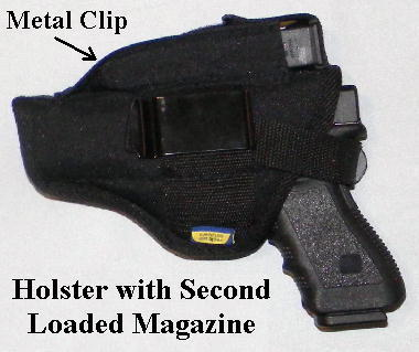 Glock in Holster