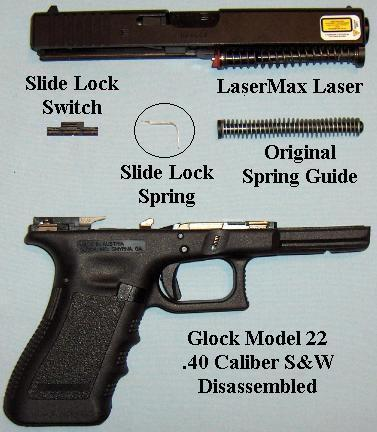 Glock with LaserMax