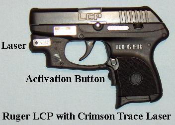 Ruger LCP with Crimson Trace