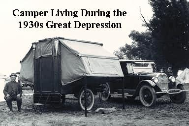 Camper During the Great Depression