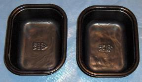 Greased Empty Food Trays to be Used as Soap Molds