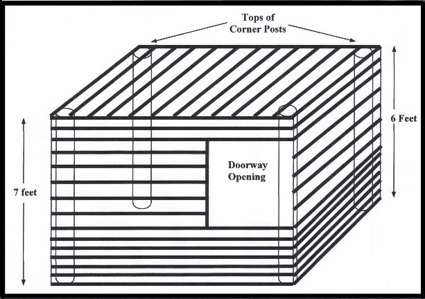 Sketch of a Temporary Shelter