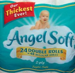 Angel Soft Toilet Tissue