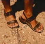 Feet with Sandles